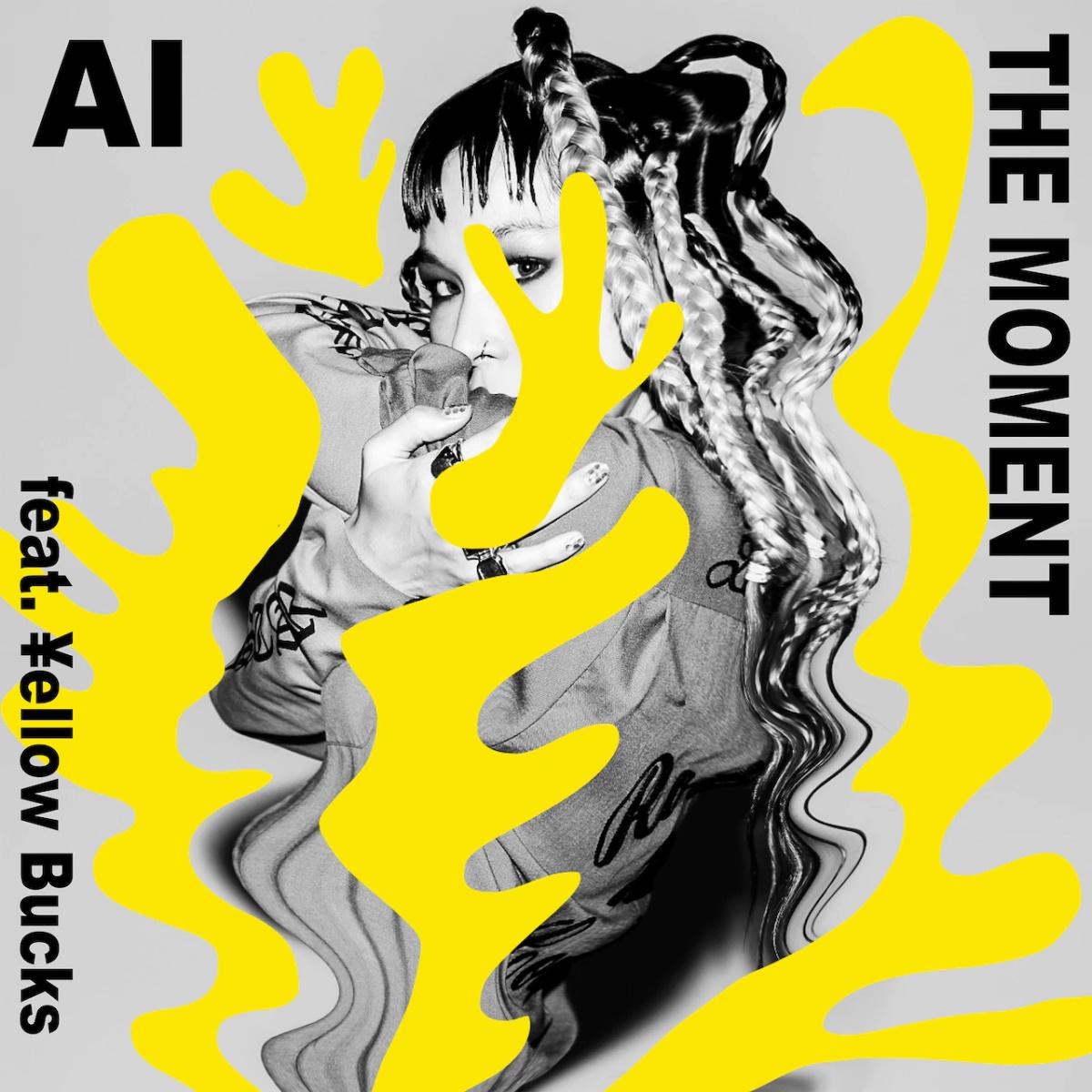 『AI - THE MOMENT feat. ¥ellow Bucks』収録の『THE MOMENT feat. ¥ellow Bucks』ジャケット