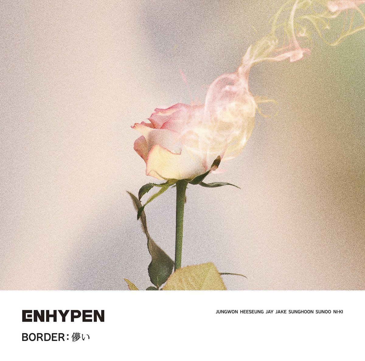 Cover for『ENHYPEN - Forget Me Not』from the release『BORDER : Hakanai』