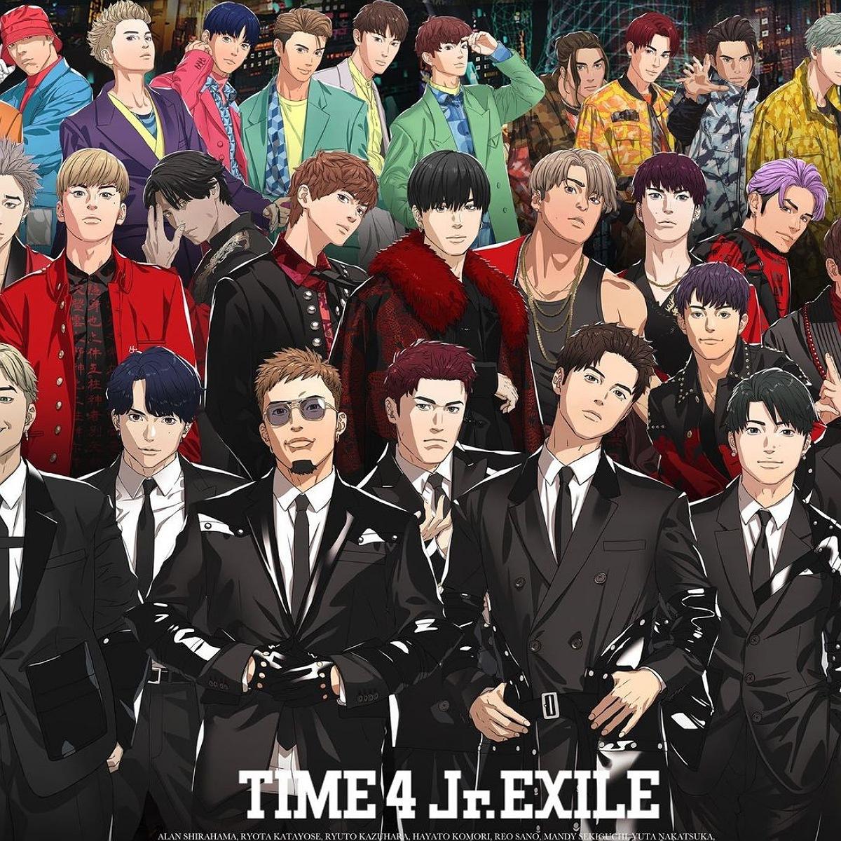 『Jr.EXILE - UNTITLED FUTURE』収録の『UNTITLED FUTURE』ジャケット