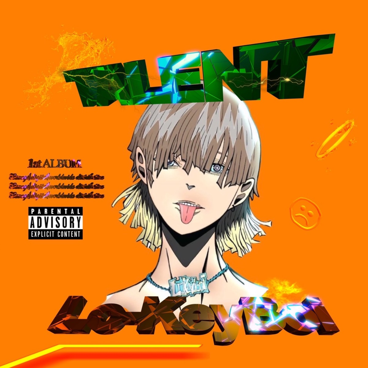 『Lo-keyBoi - 名神Drive』収録の『TALENT』ジャケット