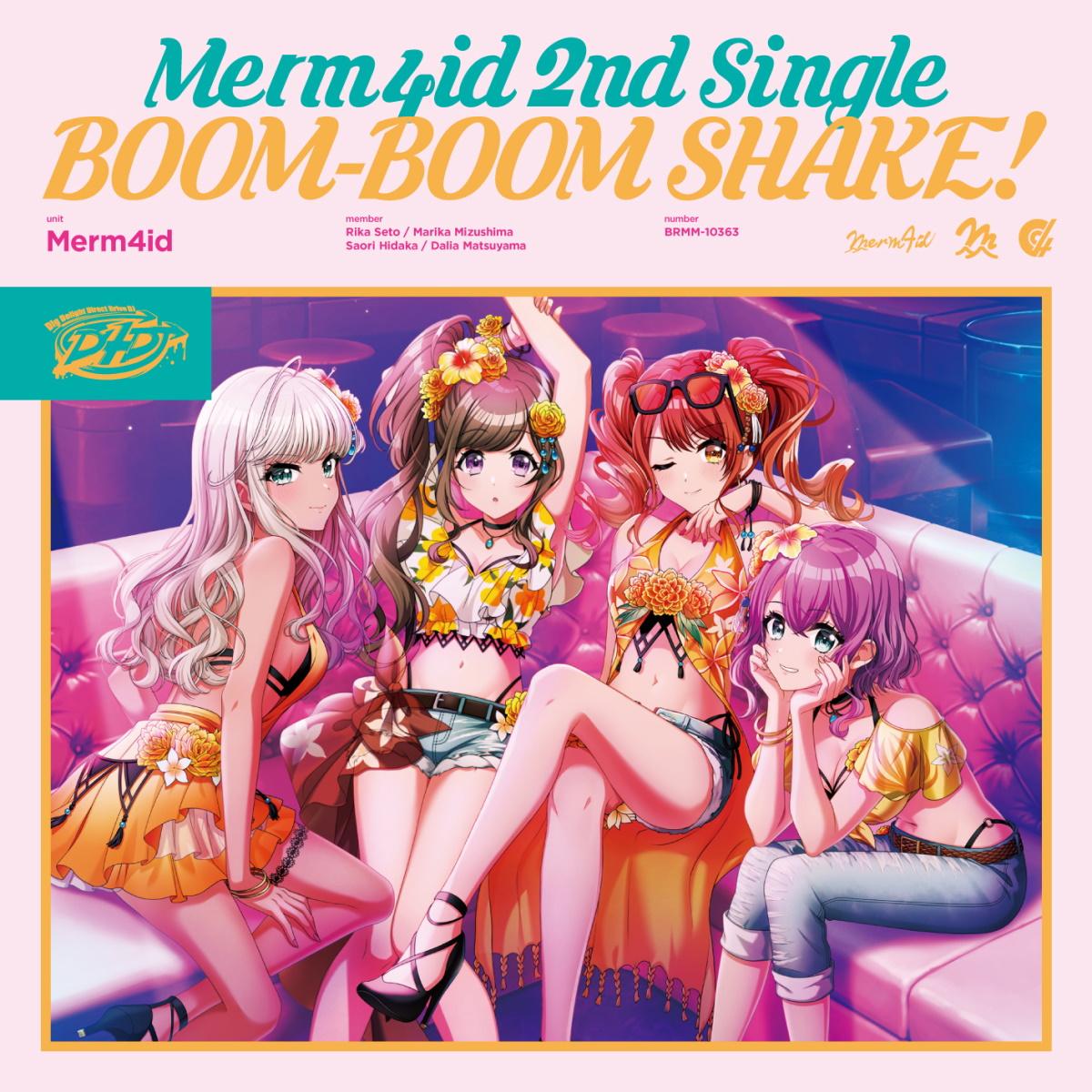 『Merm4id - BOOM-BOOM SHAKE!』収録の『BOOM-BOOM SHAKE!』ジャケット