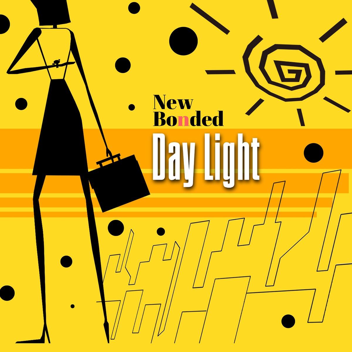 『New Bonded - DAY LIGHT』収録の『DAY LIGHT』ジャケット