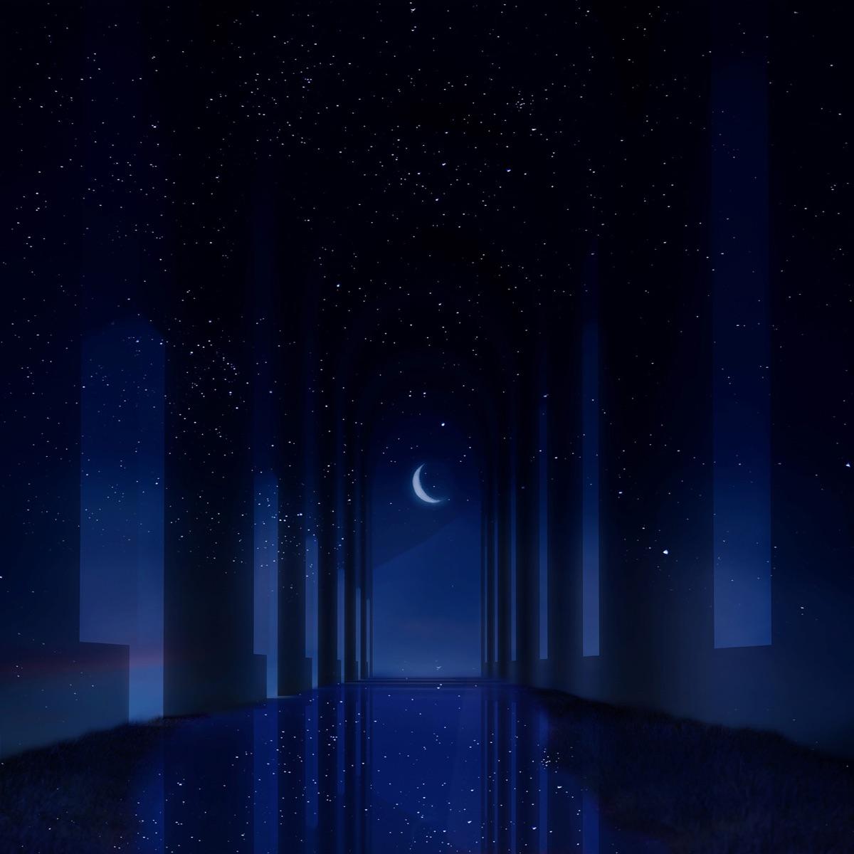 『Reol - 白夜』収録の『白夜』ジャケット