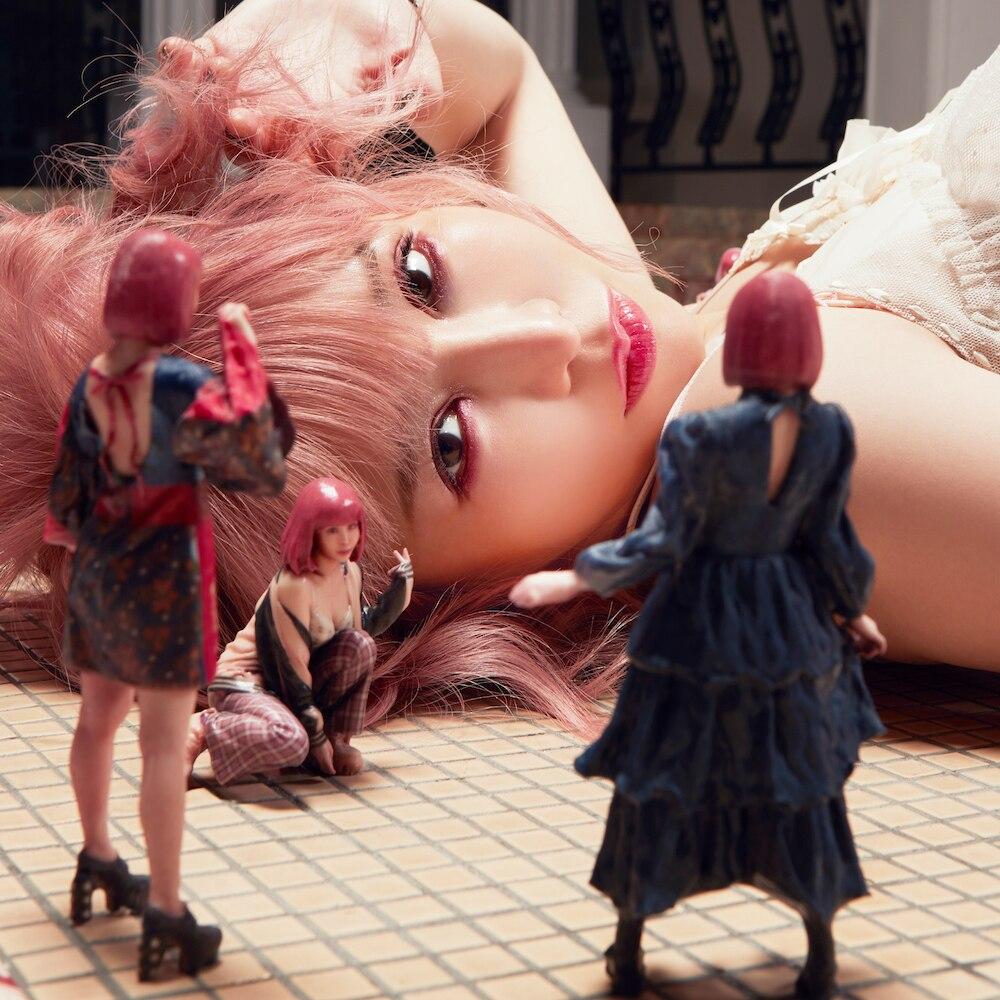 『大森靖子 - GIRL ZONE』収録の『GIRL ZONE』ジャケット
