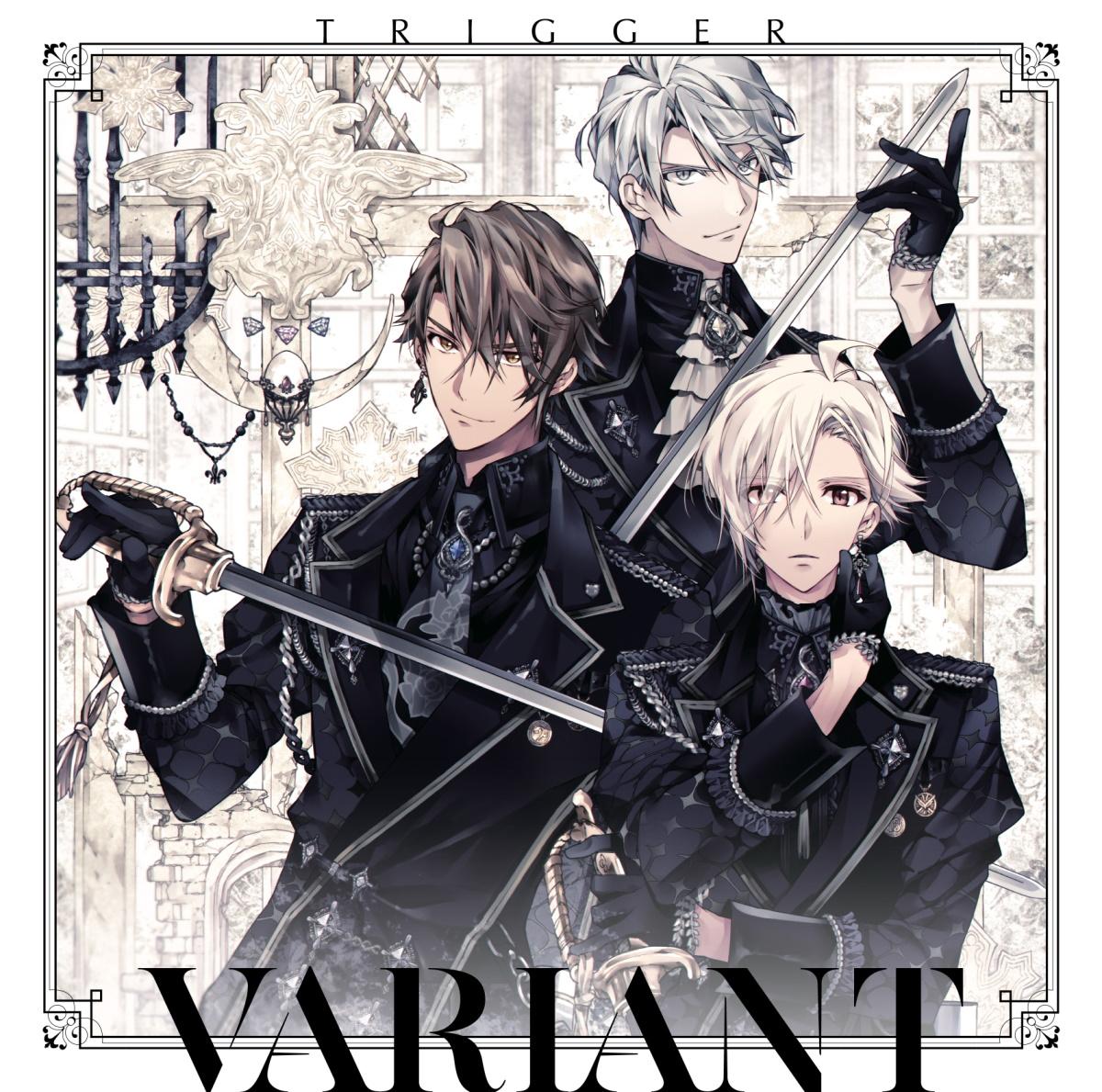 『TRIGGER - VALIANT』収録の『VARIANT』ジャケット