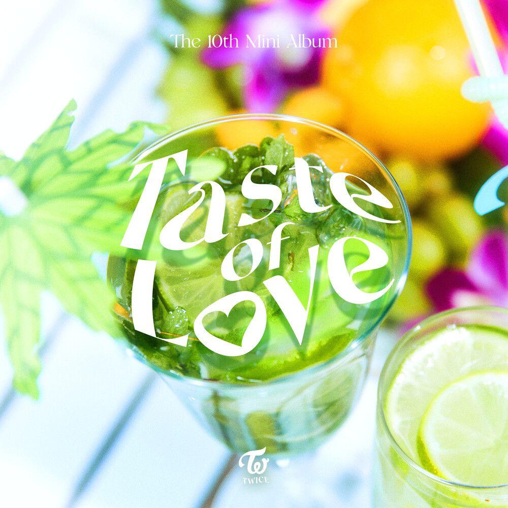 『TWICE - SOS』収録の『Taste of Love』ジャケット