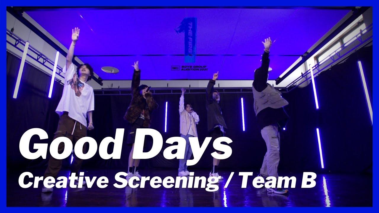 『Team B (ジュノン、リョウキ、シュンスケ、ラン、リュウヘイ) - Good Days』収録の『Good Days』ジャケット