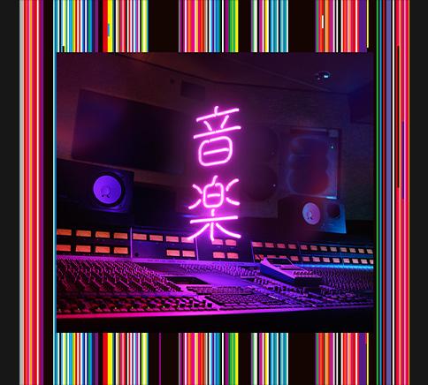 『東京事変 - 孔雀』収録の『音楽』ジャケット