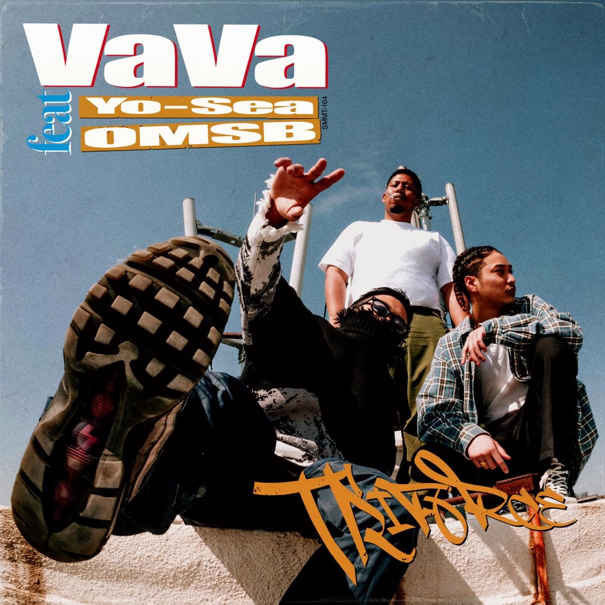 『VaVa - Triforce feat. Yo-Sea, OMSB』収録の『Triforce feat. Yo-Sea, OMSB』ジャケット