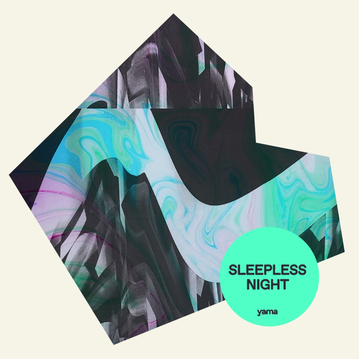 『yama - Sleepless Night』収録の『Sleepless Night』ジャケット