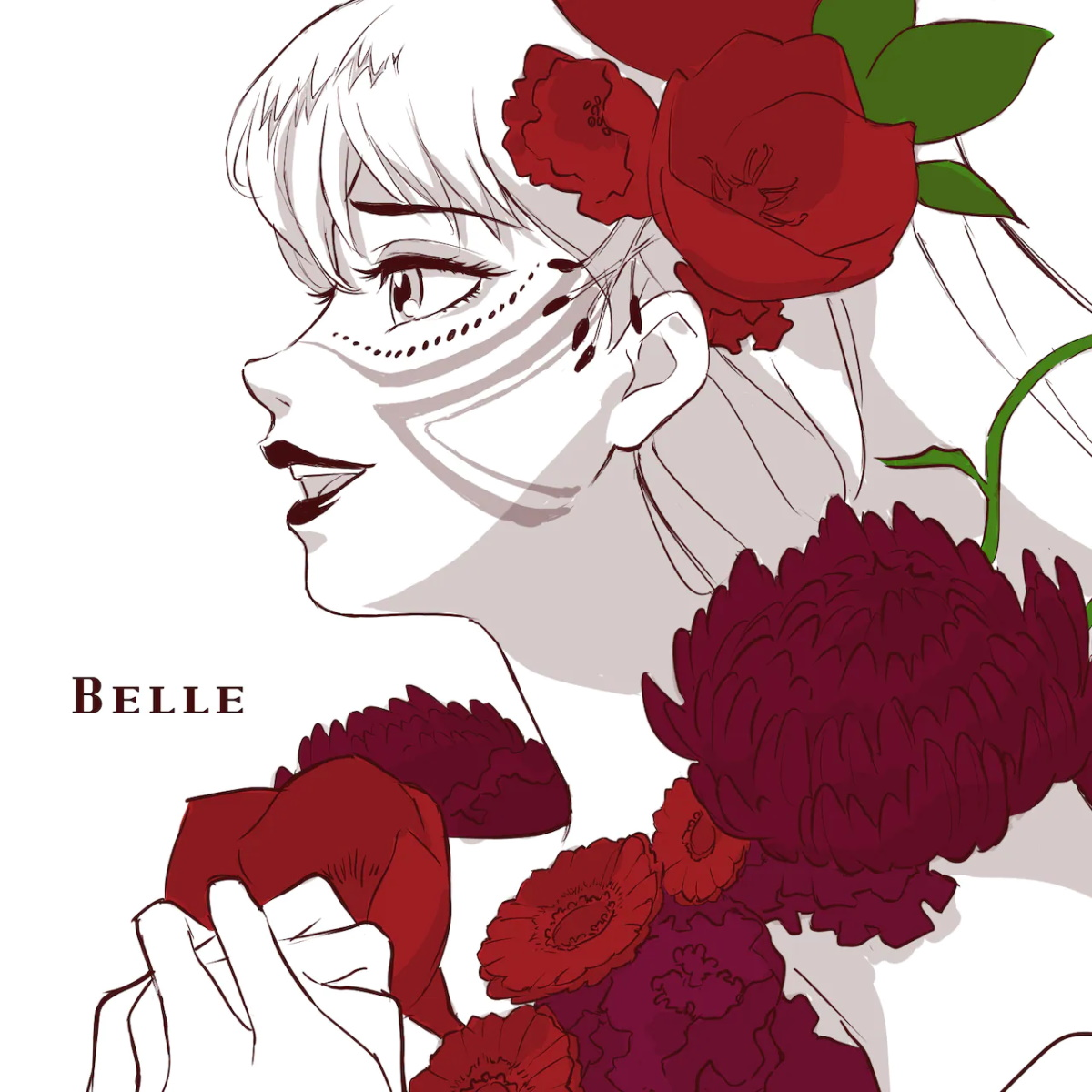 Cover for『Belle - A Million Miles Away Pt.1』from the release『Hanare Banare no Kimi e Part1』