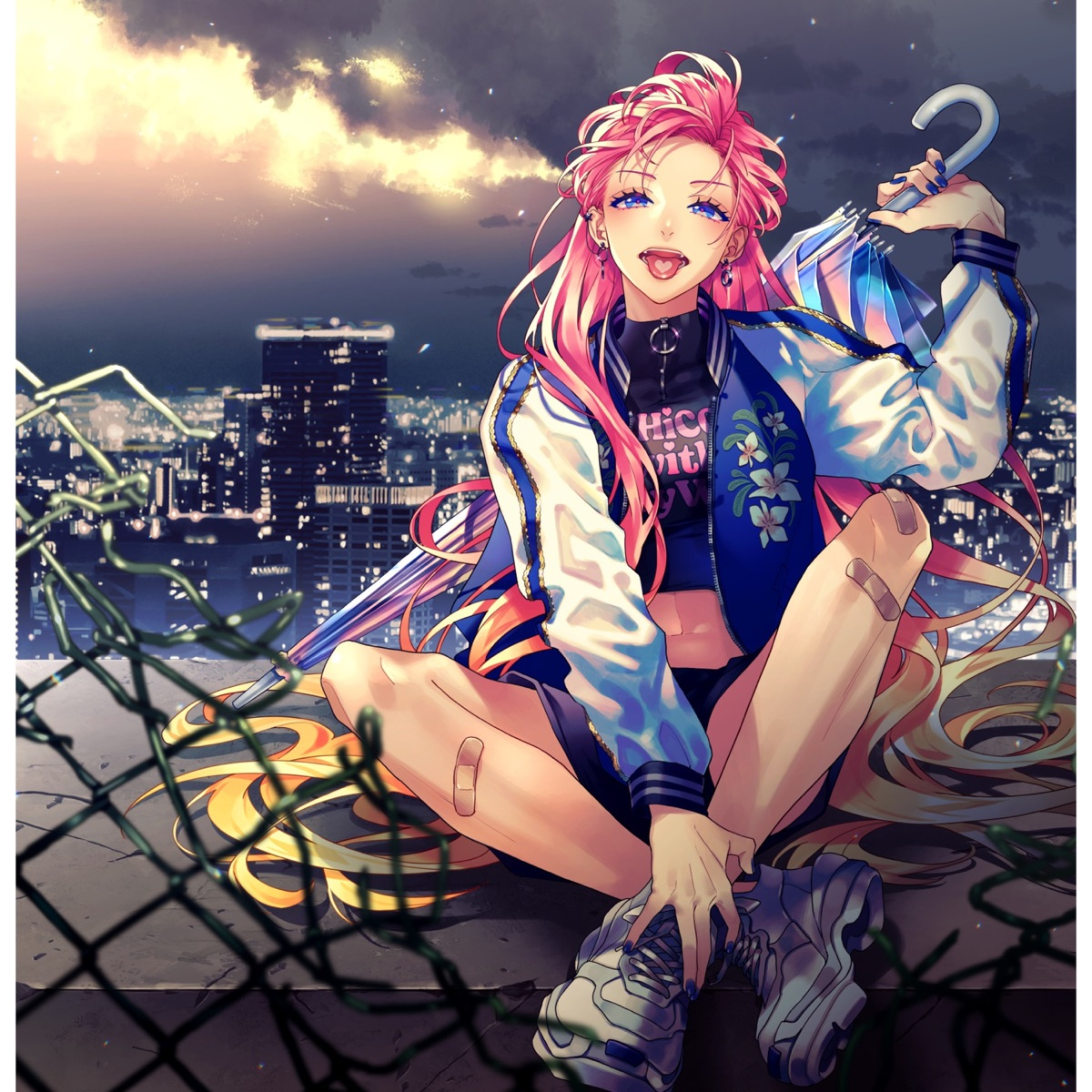 Cover image of『CHiCO with HoneyWorksGamushara』from the Album『Gamushara』