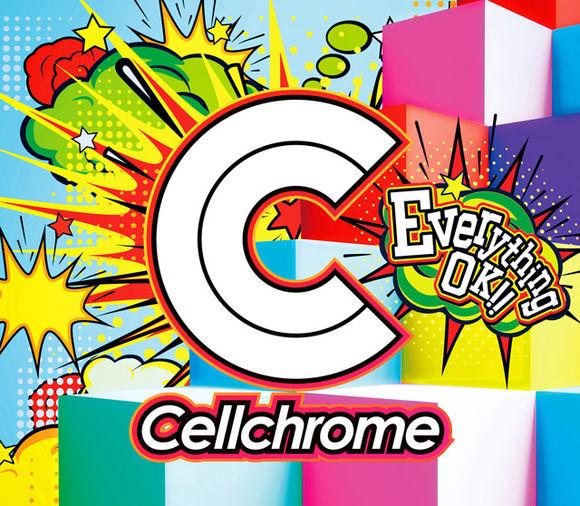 『Cellchrome - Everything OK!!』収録の『Everything OK!!』ジャケット