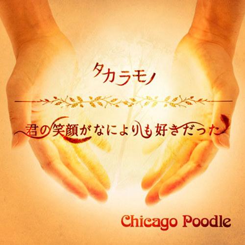 『Chicago Poodle - 君の笑顔がなによりも好きだった』収録の『タカラモノ/君の笑顔がなによりも好きだった』ジャケット