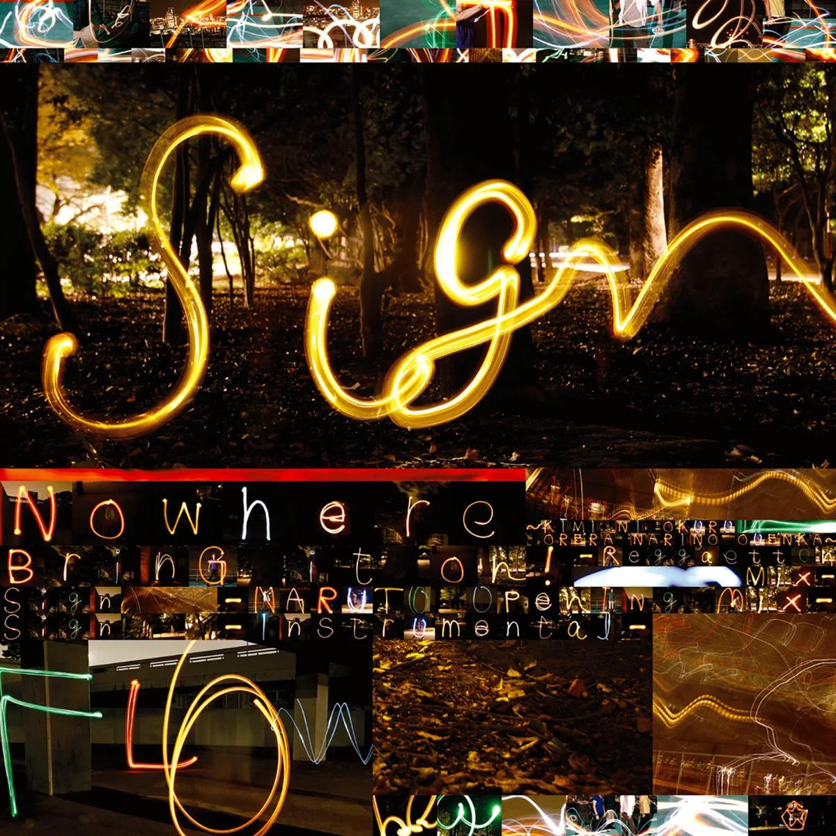 『FLOW - Sign』収録の『Sign』ジャケット