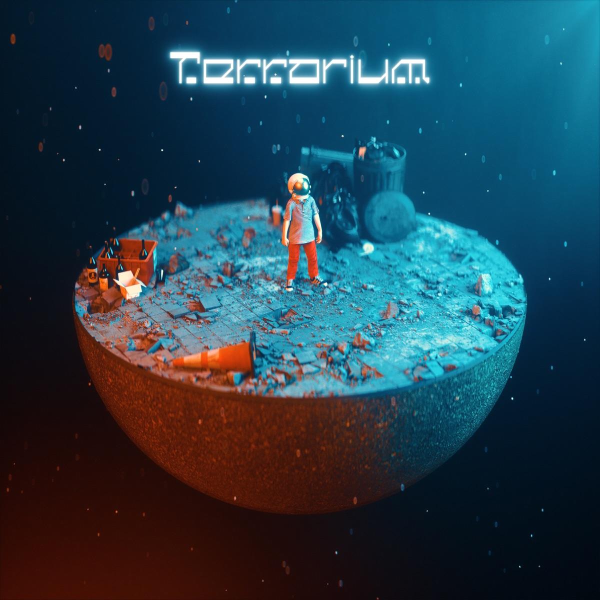 『HoneyComeBear - Terrarium』収録の『Terrarium』ジャケット