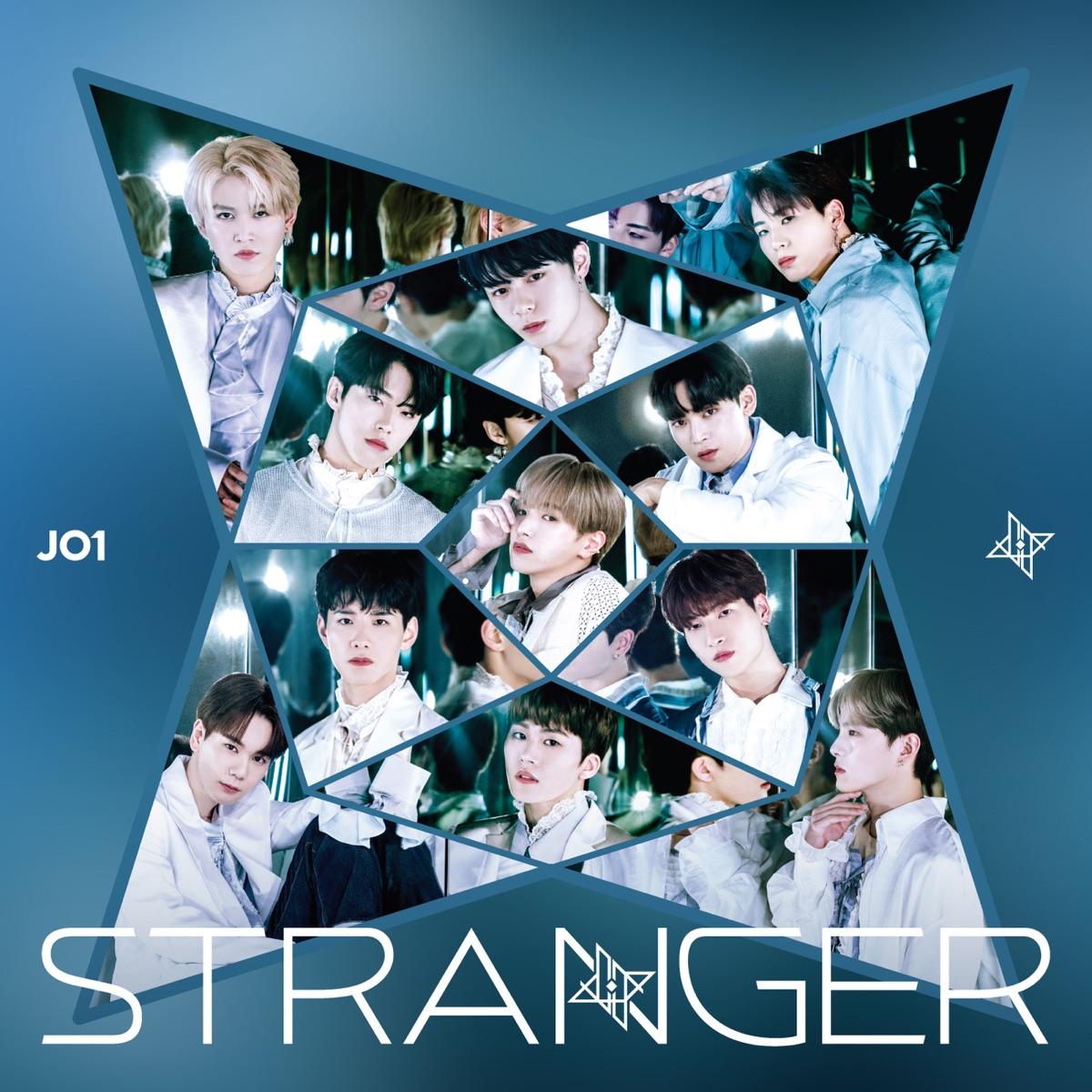 『JO1 - REAL』収録の『STRANGER』ジャケット