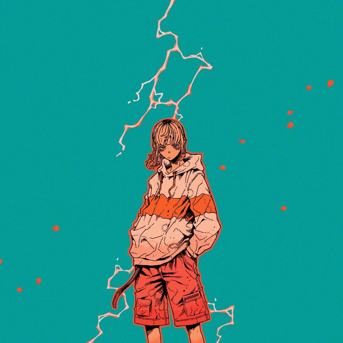 『ナナヲアカリ - 雷火』収録の『雷火/魔法』ジャケット