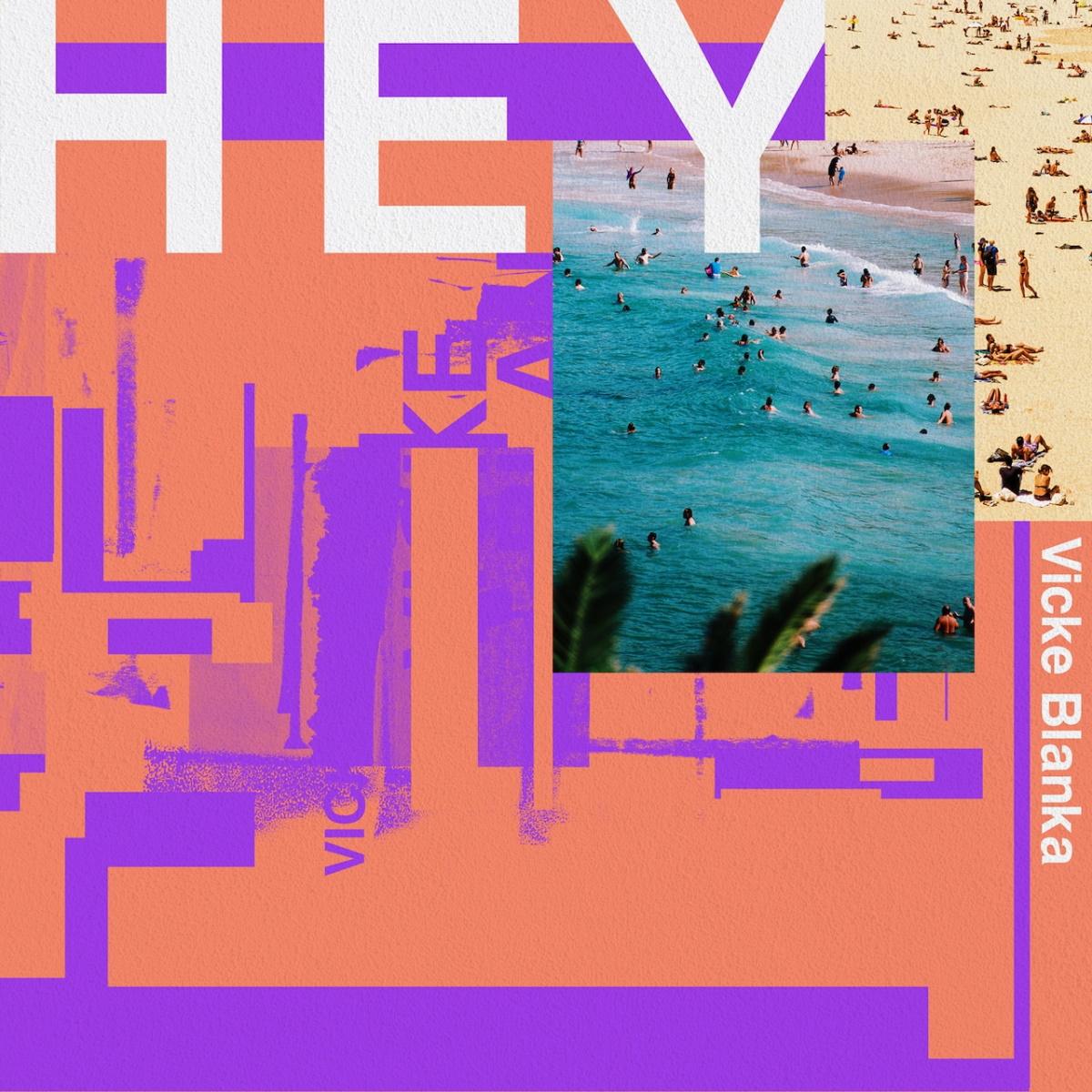 『ビッケブランカ - 蒼天のヴァンパイア』収録の『HEY』ジャケット