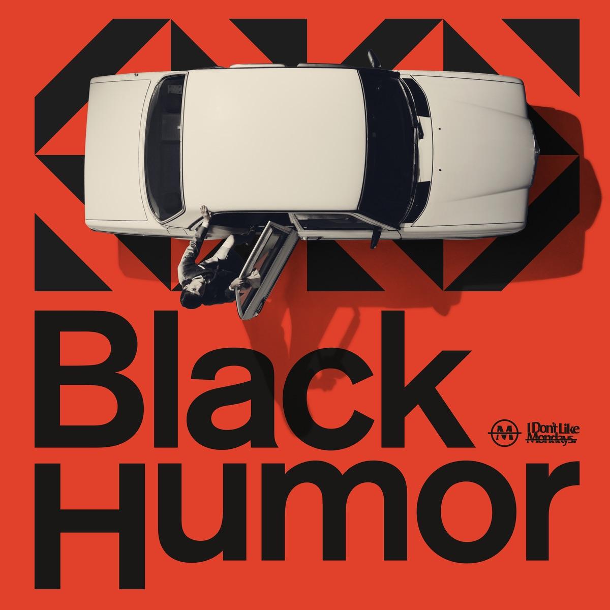『I Don't Like Mondays. - ノラリ・クラリ』収録の『Black Humor』ジャケット