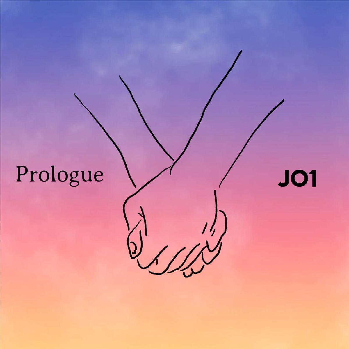 『JO1 - Prologue』収録の『Prologue』ジャケット