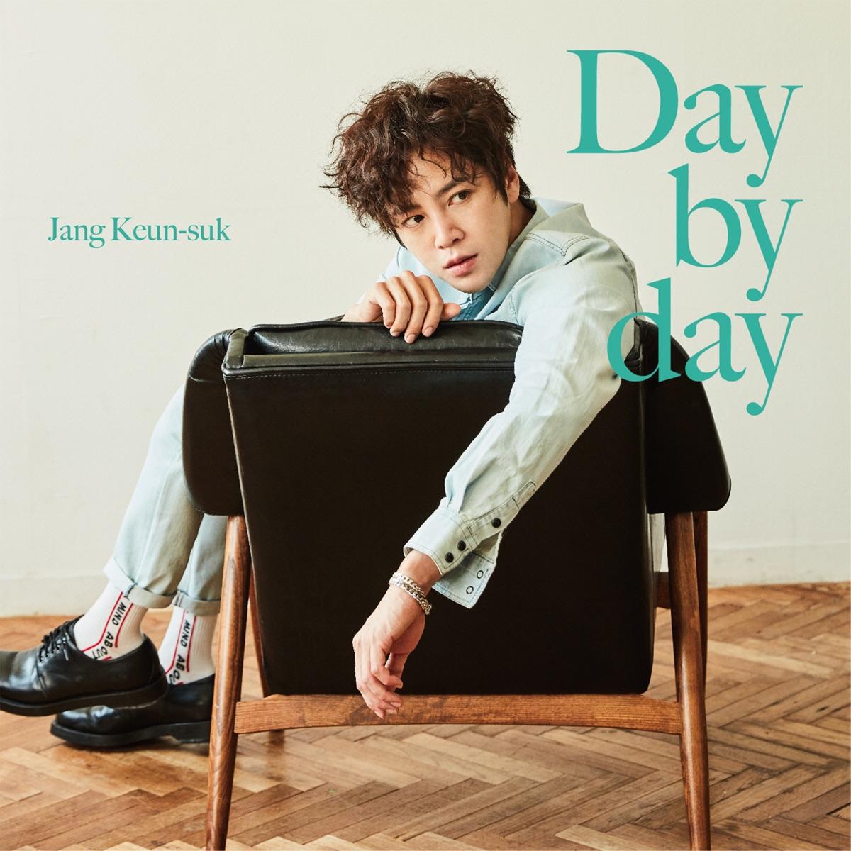 『チャン・グンソク - Day by day』収録の『Day by day』ジャケット