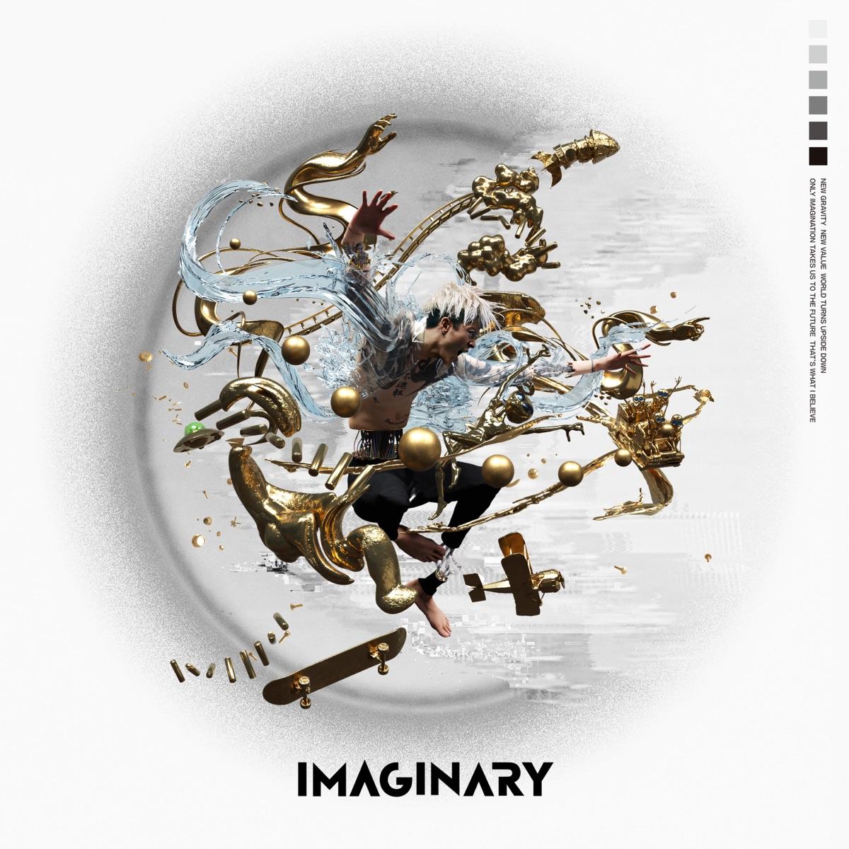 『MIYAVI - Imaginary (feat. キンブラ)』収録の『Imaginary』ジャケット