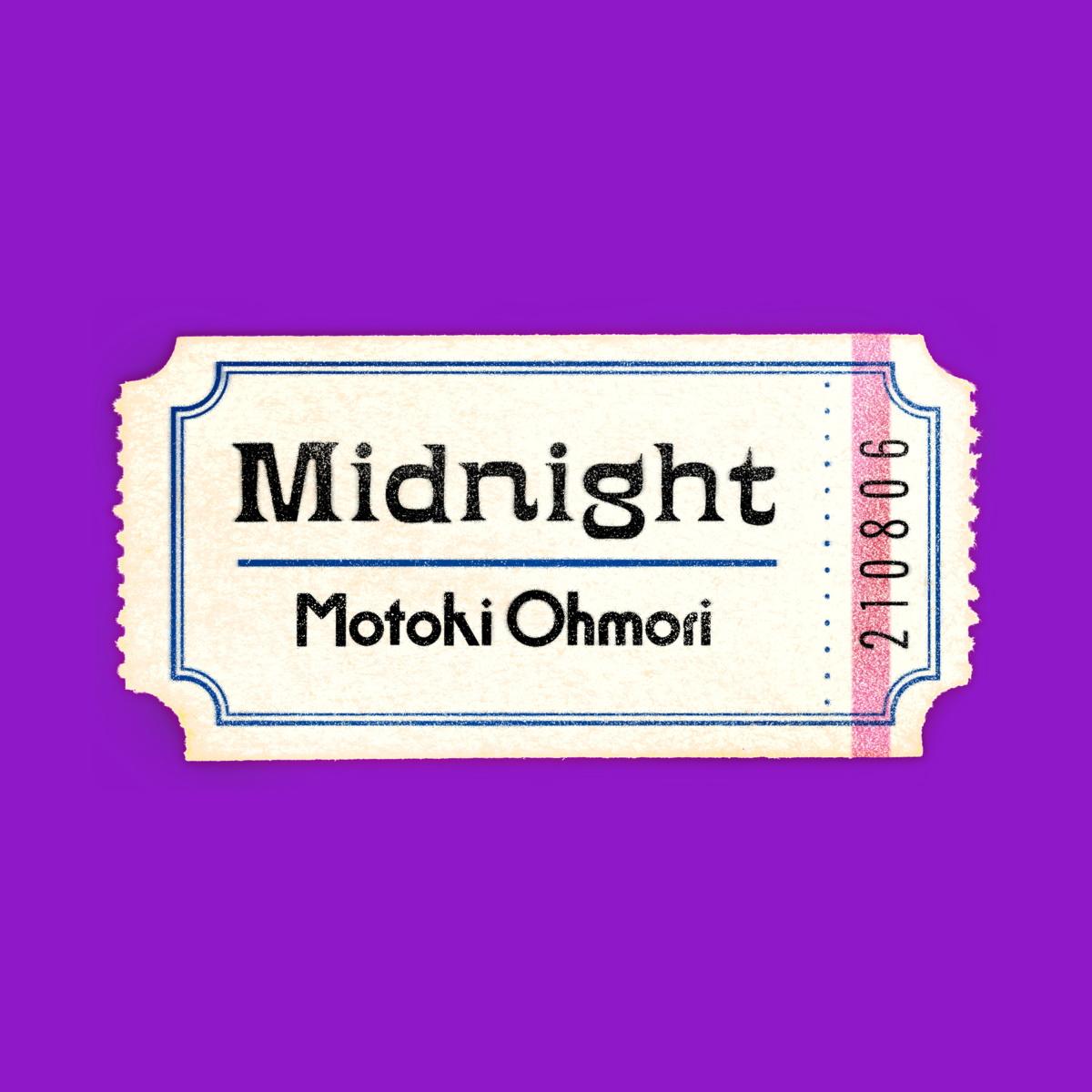 『大森元貴 - Midnight』収録の『Midnight』ジャケット