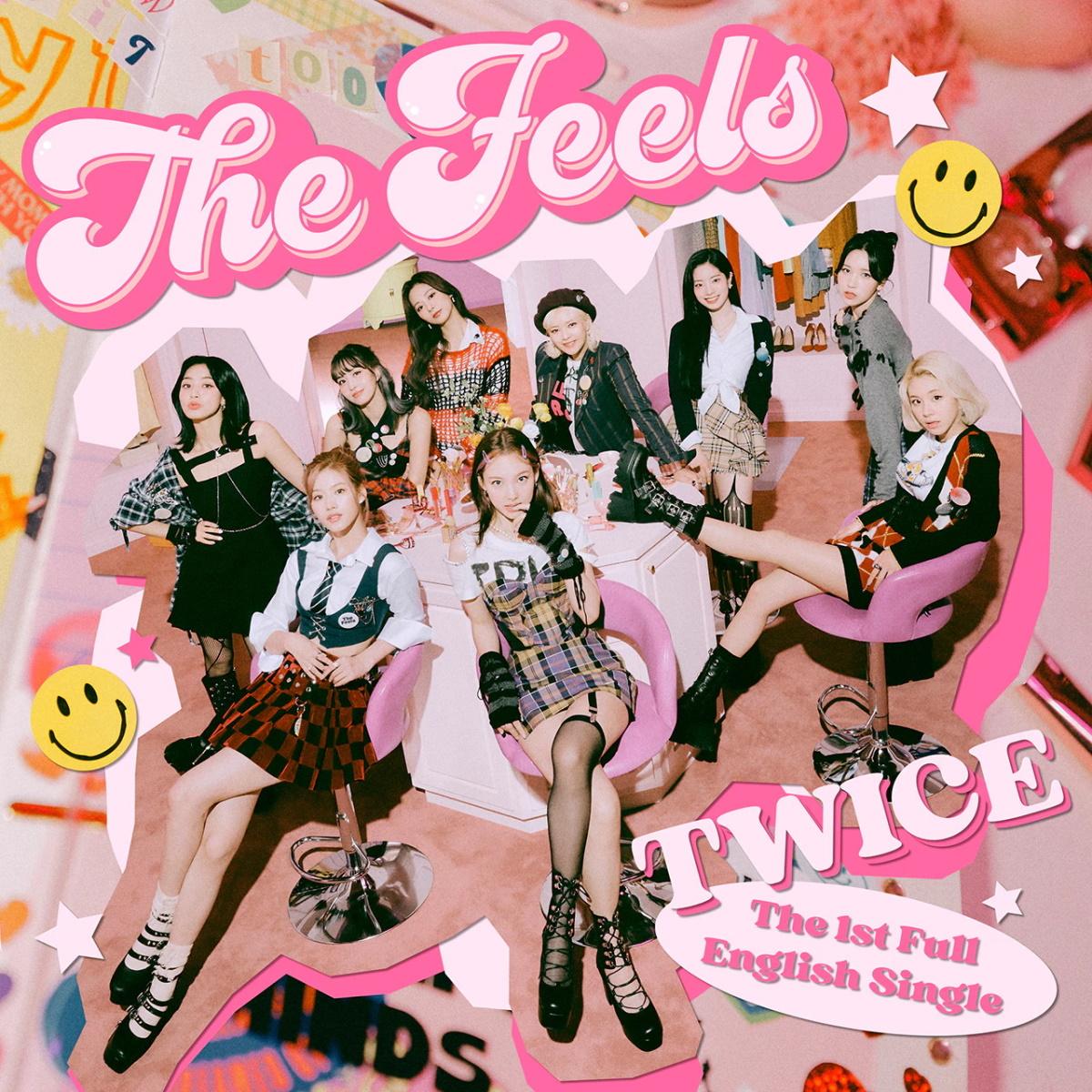 『TWICE - The Feels』収録の『The Feels』ジャケット