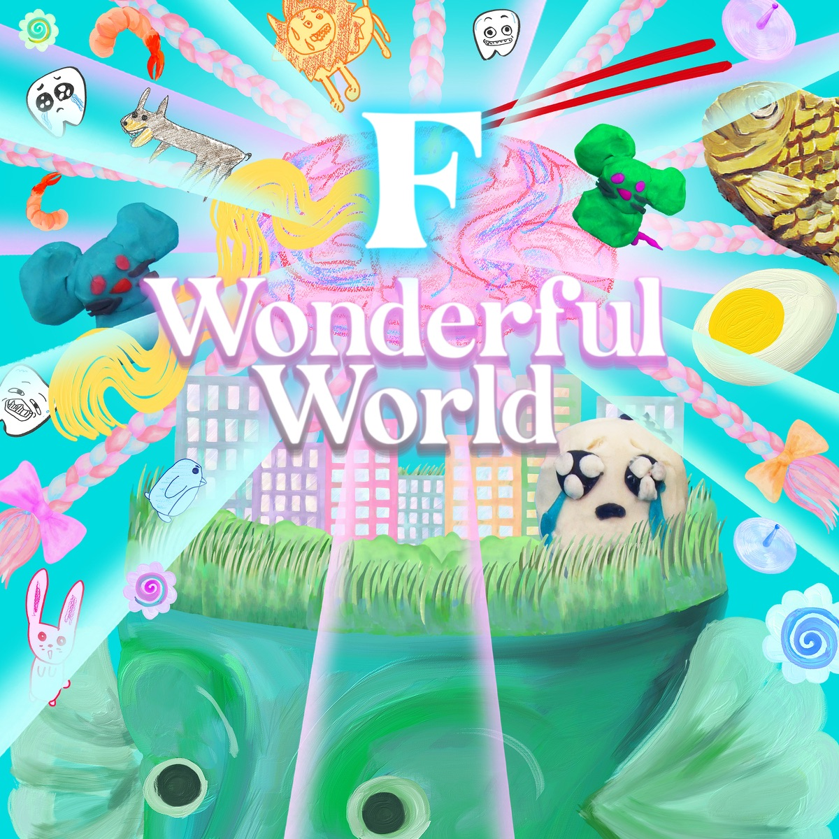『ano - F Wonderful World』収録の『F Wonderful World』ジャケット
