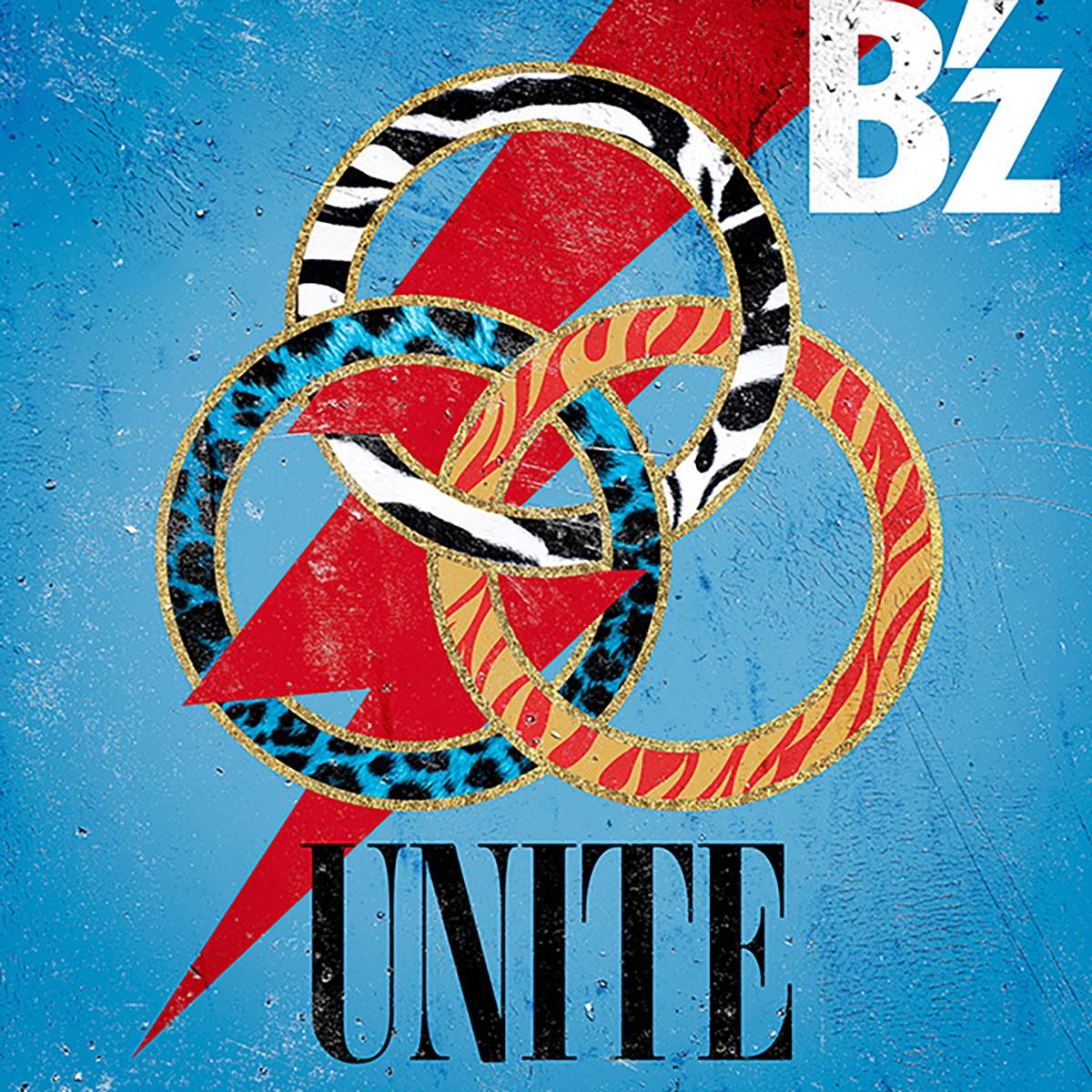 『B'z - UNITE』収録の『UNITE』ジャケット