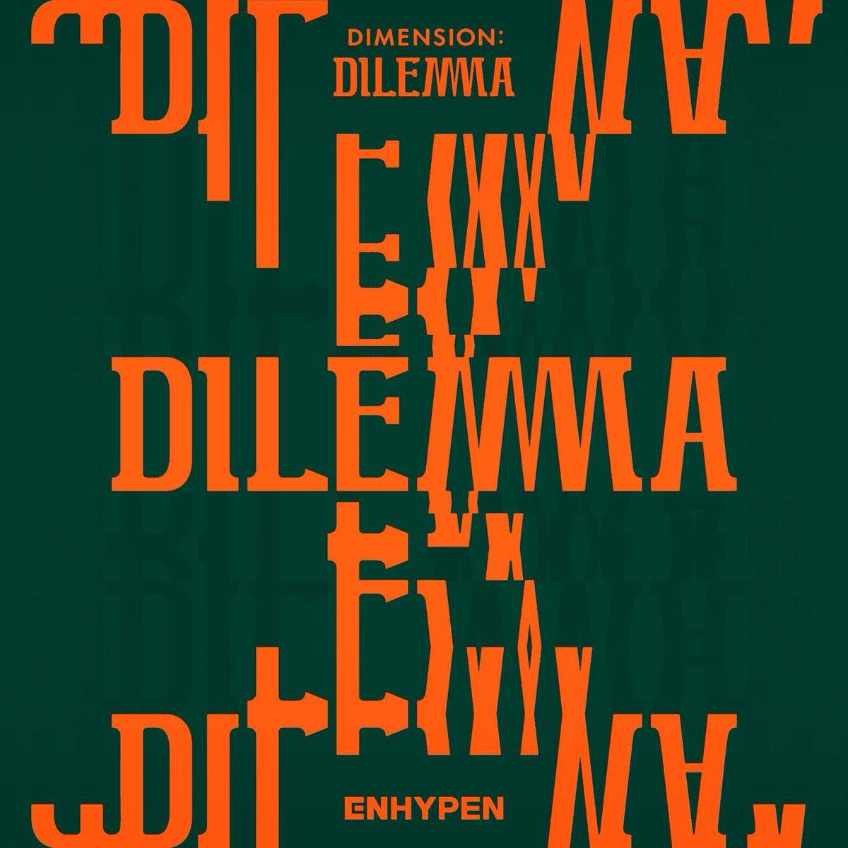 『ENHYPEN - Tamed-Dashed』収録の『DIMENSION : DILEMMA』ジャケット