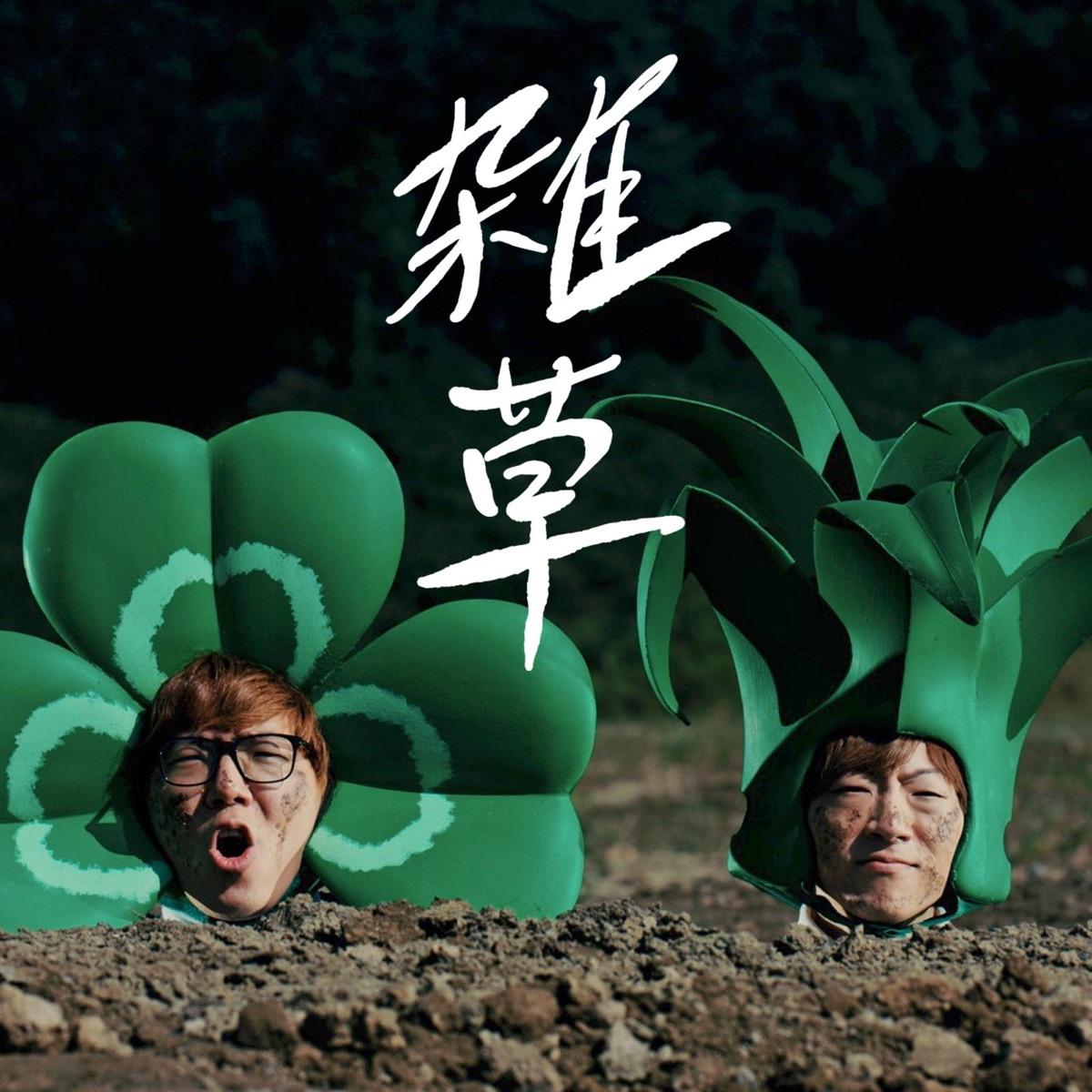 『HIKAKIN & SEIKIN - 雑草』収録の『雑草』ジャケット