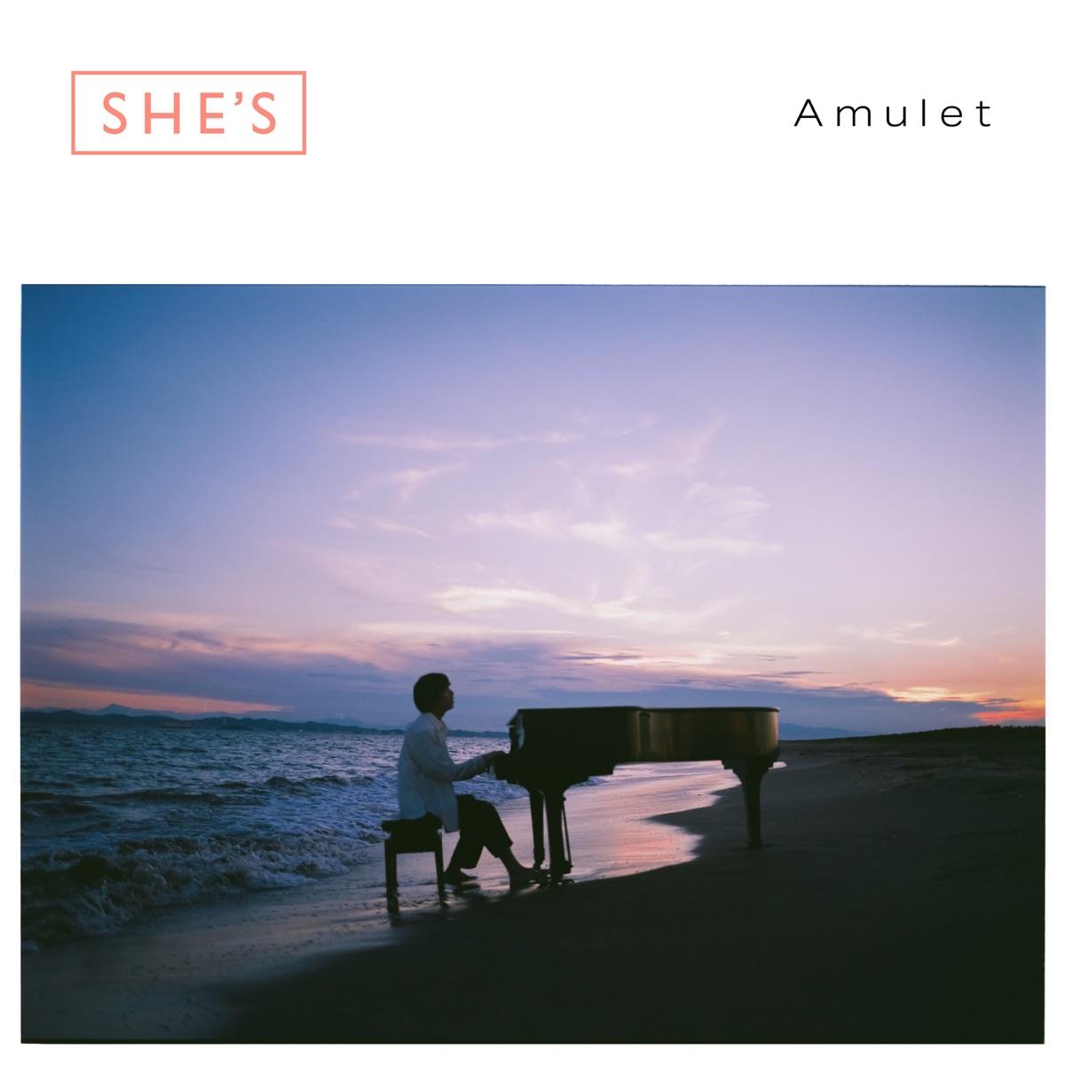 『SHE'S - Chained』収録の『Amulet』ジャケット