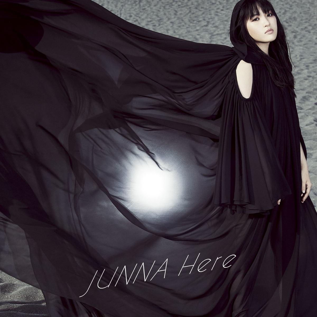 『JUNNA - Here』収録の『Here』ジャケット