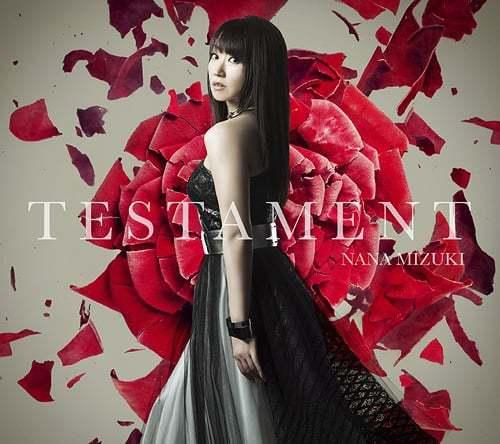 『水樹奈々 - TESTAMENT』収録の『TESTAMENT』ジャケット