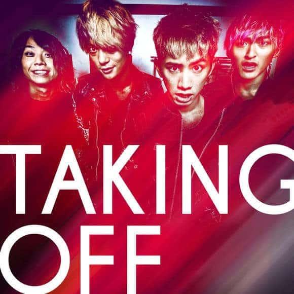 『ONE OK ROCKTaking Off』収録の『Taking Off』ジャケット