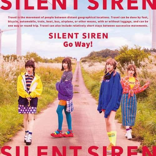 『SILENT SIRENGo Way!』収録の『』ジャケット