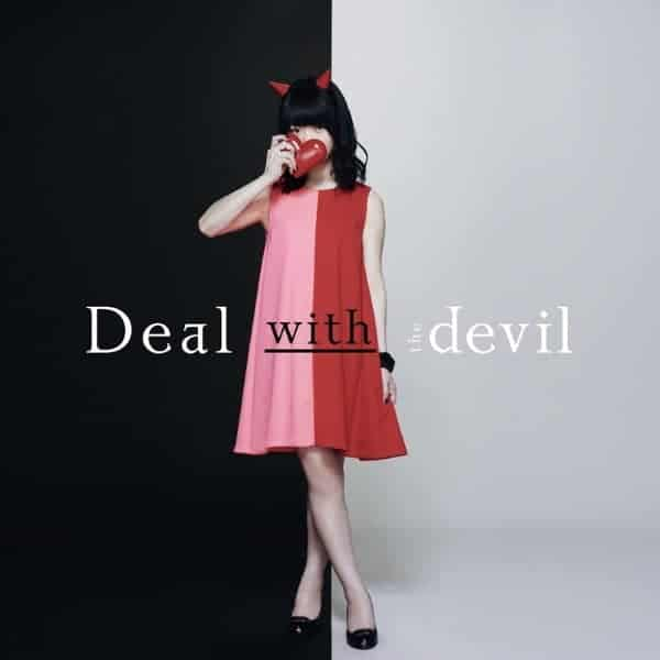 『Tia - Deal with the devil』収録の『Deal with the devil』ジャケット