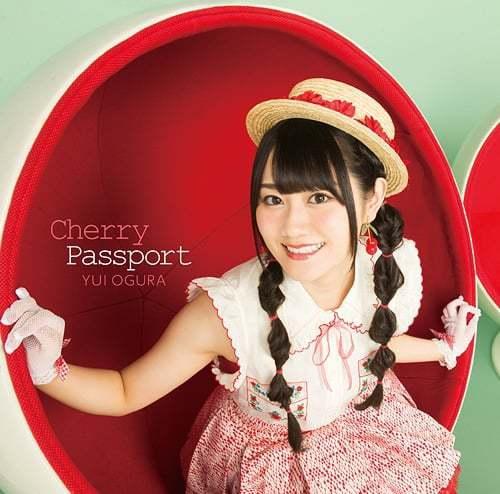 『小倉唯 - Dear 歌詞』収録の『Cherry Passport』ジャケット