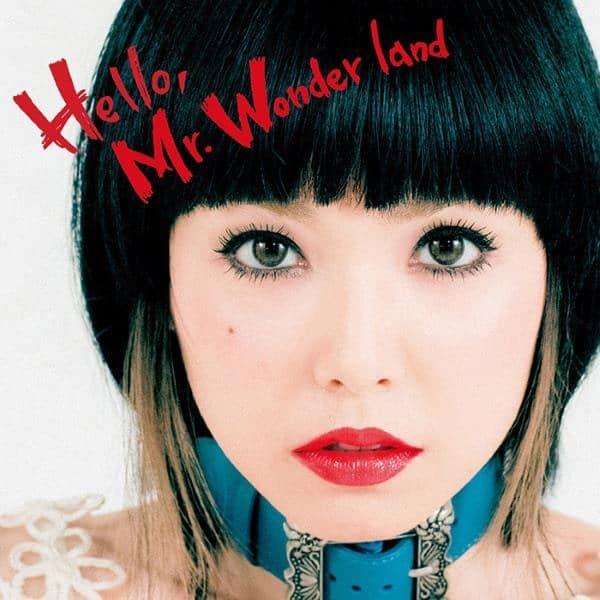 『中ノ森文子 - Hello, Mr.Wonder land』収録の『Hello, Mr.Wonder land』ジャケット