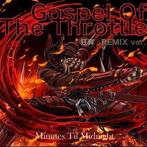 『Minutes Til Midnight - Gospel Of The Throttle』収録の『Bulletproof Dreams』ジャケット