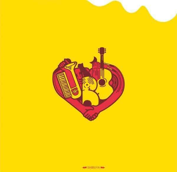 『宇田川別館バンド ありがとうさようなら 歌詞』収録の『宇田川別館バンド』ジャケット